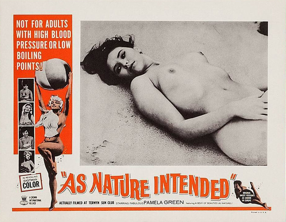 As Nature Intended, Lobby card, Pamela Green