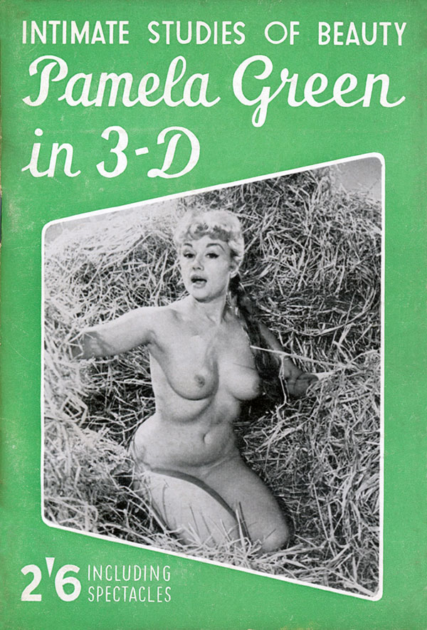Pamela Green, 3D, Pinup, model, nude.