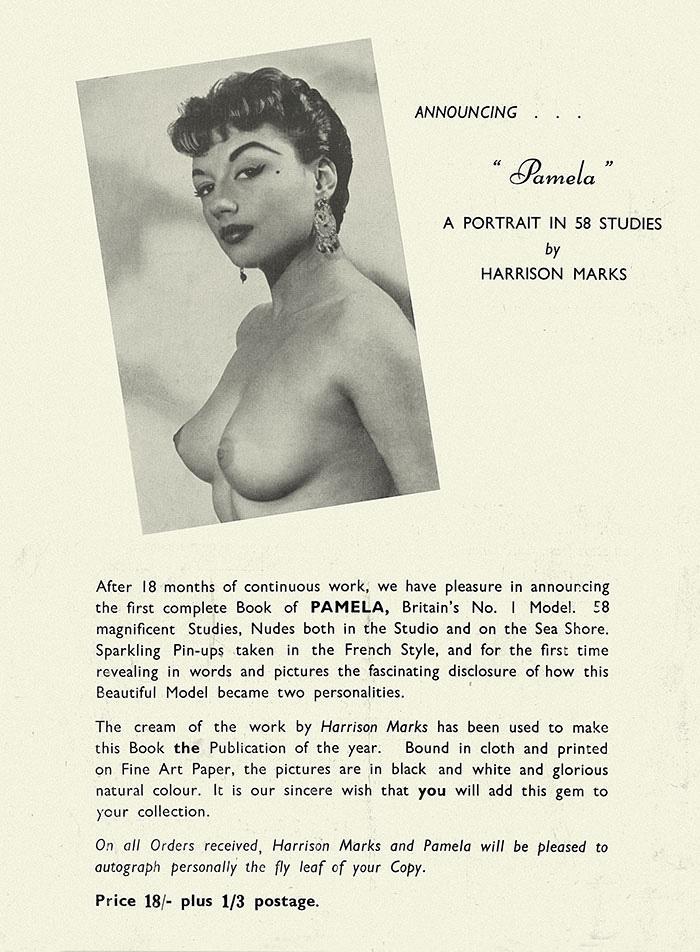 Pamela Green, George Harrison Marks, nude, Glamour