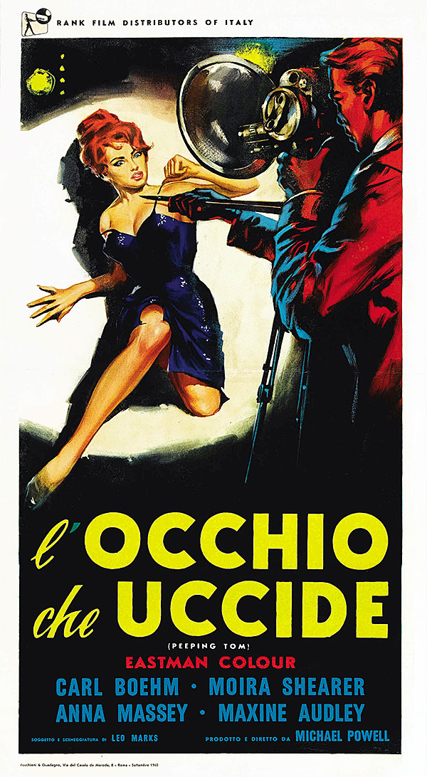 Peeping Tom, Michael Powell, L'Occhio Che Uccide