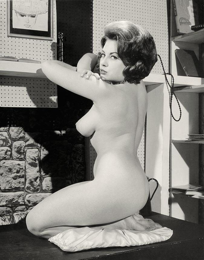 June Palmer naked model 1960s