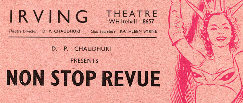 The Irving Theatre Club — Revues with Vues